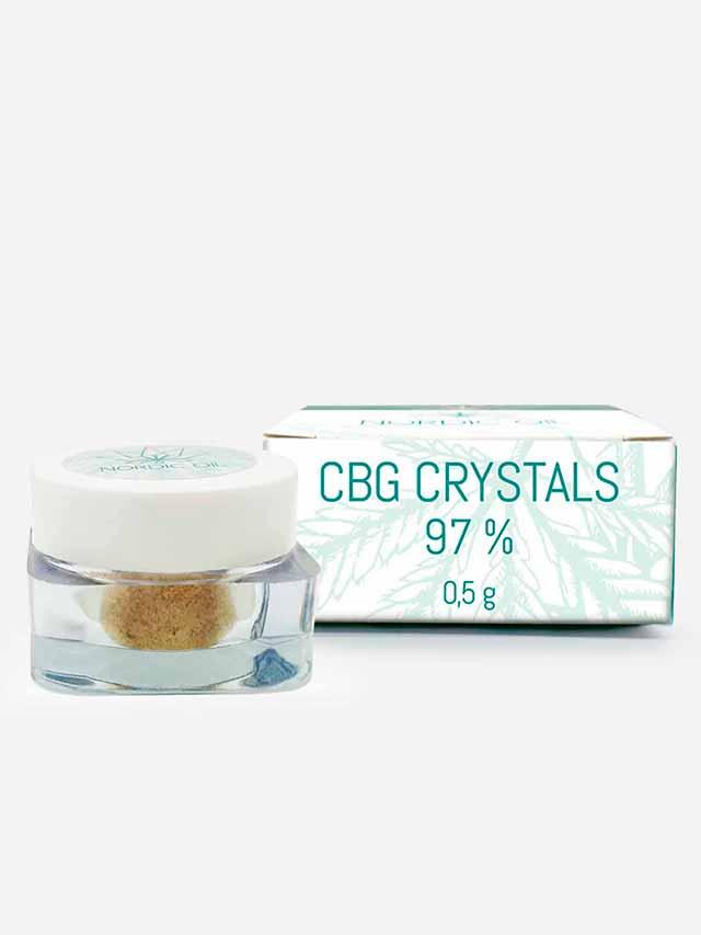 CBG krystaller