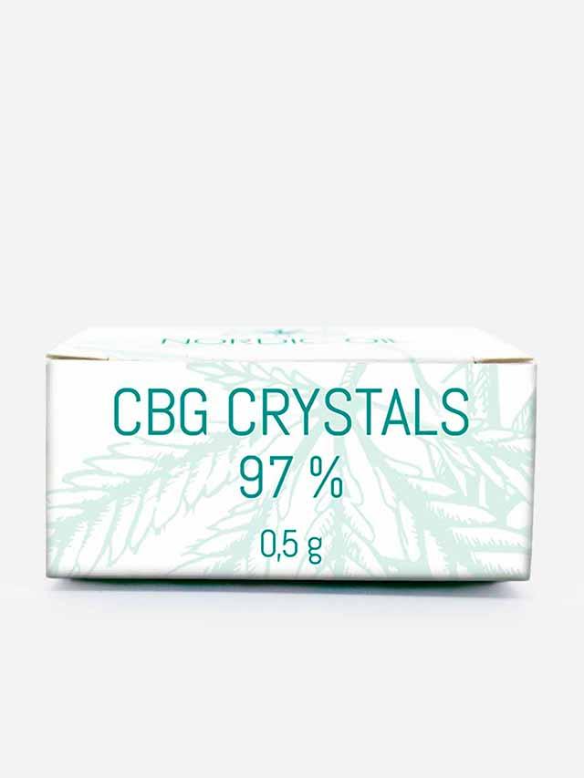 CBG krystaller i pakke