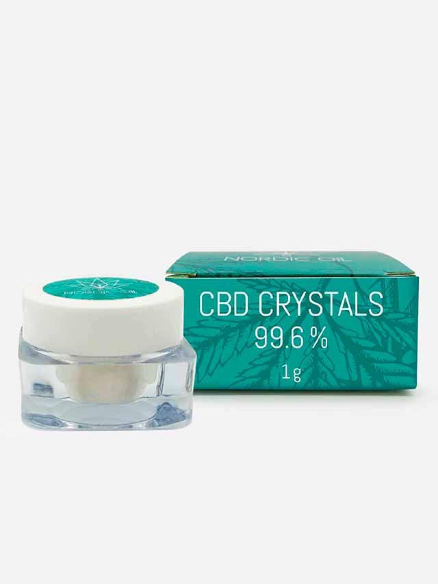 CBD krystaller