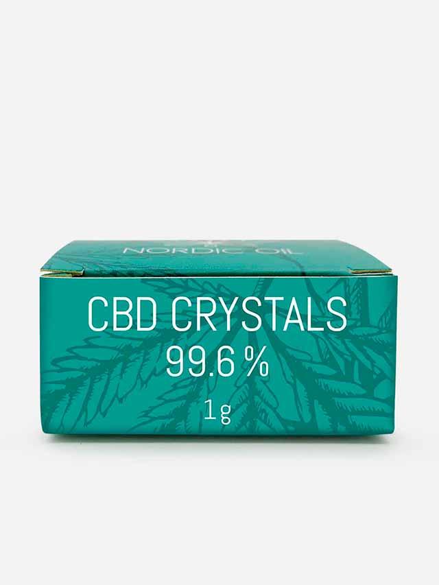 CBD krystaller i pakke