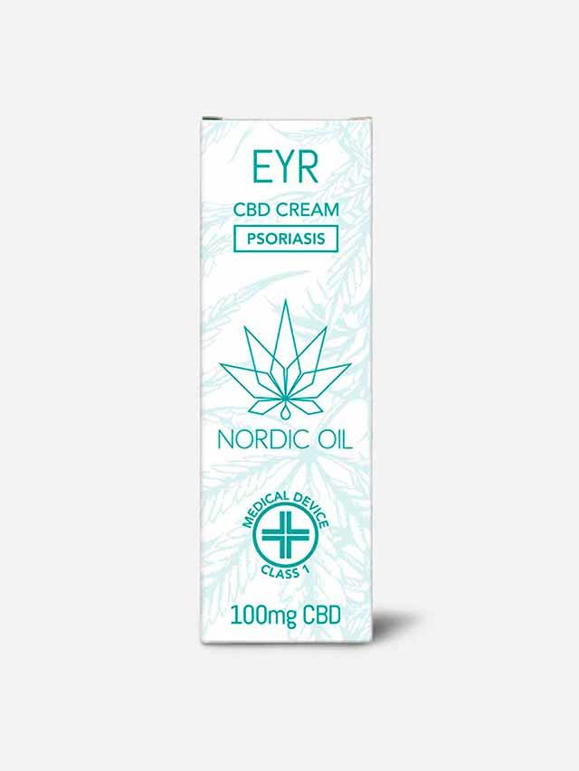 Eyr CBD creme mod psoriasis pakke