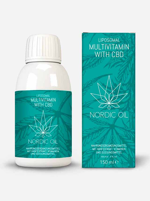 Multivitamin med CBD
